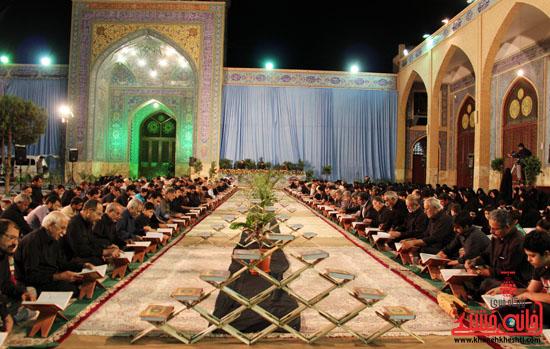 گزارش تصویری آئین جمع خوانی قرآن کریم در رفسنجان-قرآن-خانه خشتی رفسنجان (2)