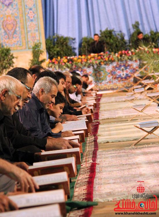 گزارش تصویری آئین جمع خوانی قرآن کریم در رفسنجان-قرآن-خانه خشتی رفسنجان (4)
