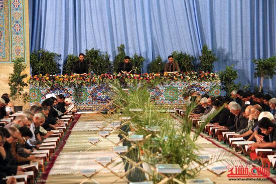 گزارش تصویری آئین جمع خوانی قرآن کریم در رفسنجان-قرآن-خانه خشتی رفسنجان (6)