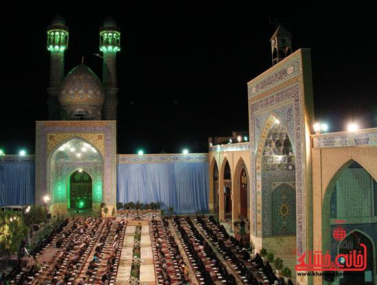 گزارش تصویری آئین جمع خوانی قرآن کریم در رفسنجان(۳)