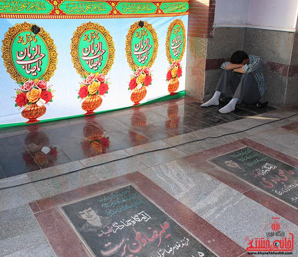 گلزار شهدای عباس آباد رفسنجان. پایگاه اطلاع رسانی خانه خشتی