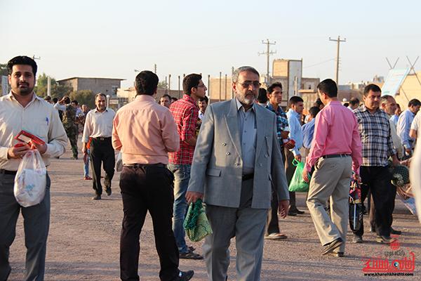 10نماز عید فطر در مصلا امام خامنه ای رفسنجان
