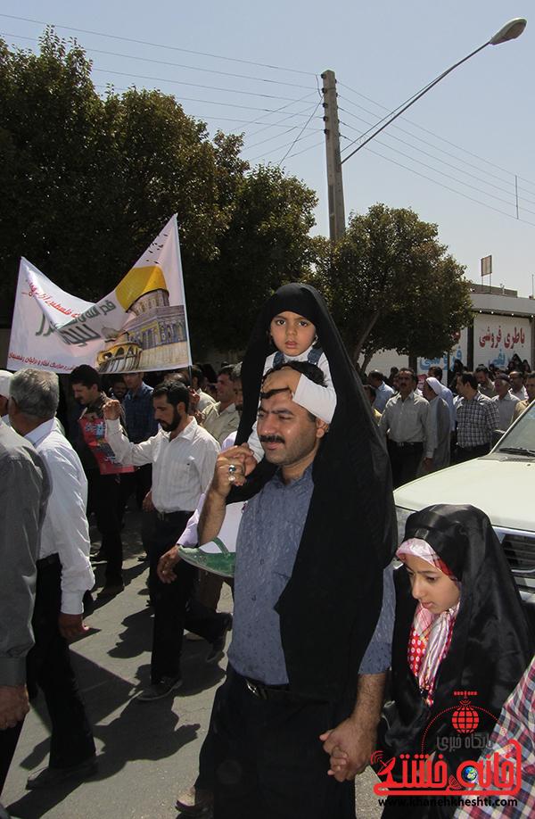 12راهپیمایی روز جهانی قدس در رفسنجان