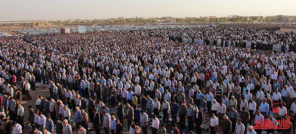 13نماز عید فطر در مصلا امام خامنه ای رفسنجان