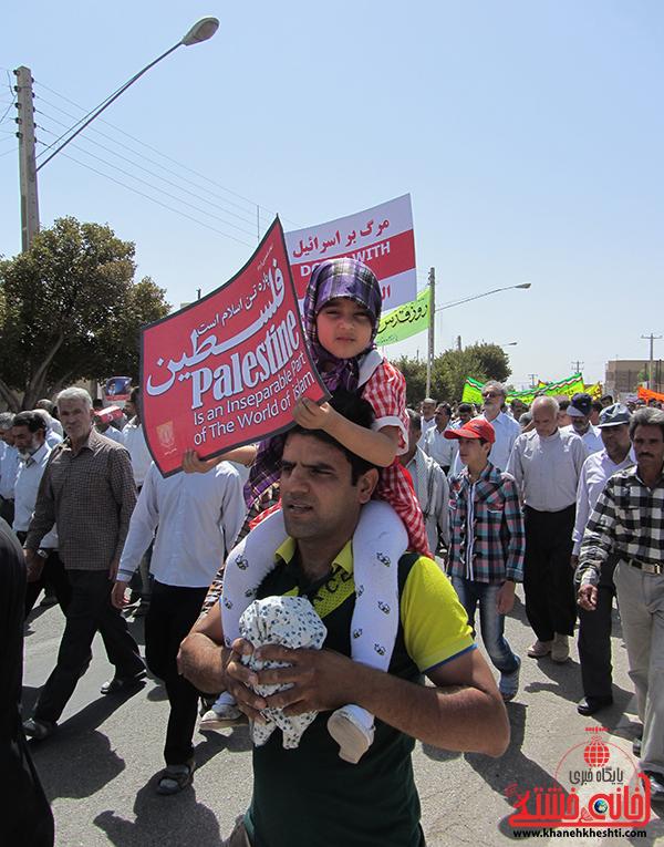 15راهپیمایی روز جهانی قدس در رفسنجان