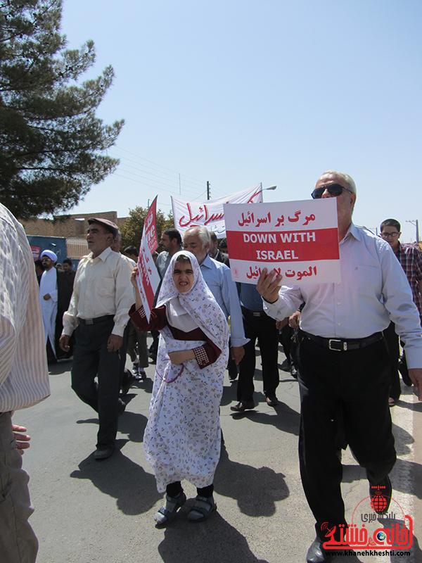 17راهپیمایی روز جهانی قدس در رفسنجان