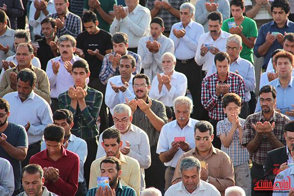 دوربین خانه خشتی در نماز عید سعید فطر رفسنجان