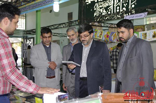 4بازدید مسئولین از نمایشگاه بزرگ قرآن  و حجاب و عفاف در رفسنجان