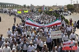 راهپیمایی روز جهانی قدس در رفسنجان آغاز شد