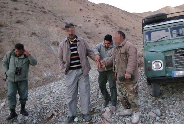 دستگیری دو اکیپ شکارچی متخلف در رفسنجان / عکس