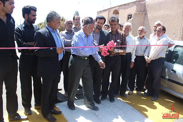 افتتاح دو طرح در عباس آباد حاجی+عکس