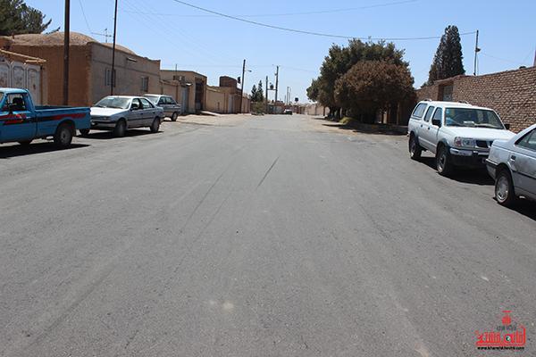 آسفالت خیابان عباس آباد حاجی رفسنجان2