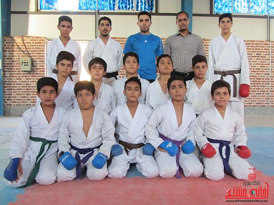 آماده سازی کاراته کاران نوجوان رفسنجانی برای حضور در مسابقات کشوری (6)