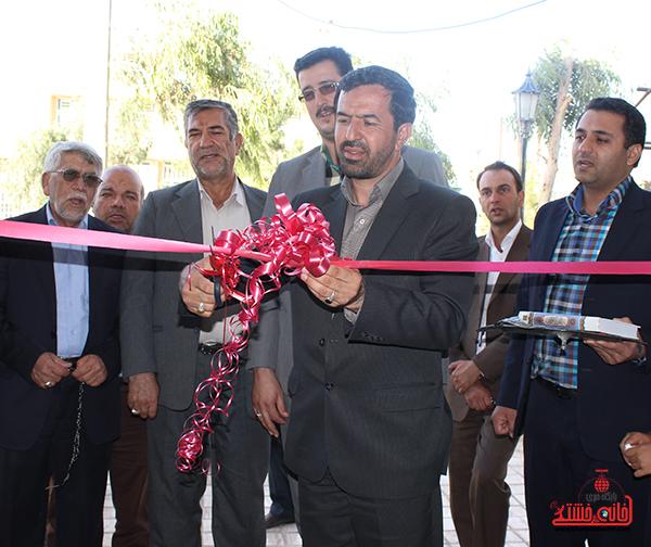 ساختمان جدید مؤسسه اعتباری ثامن الحجج در بهرمان افتتاح شد