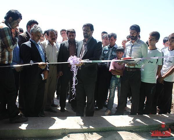 افتتاح مجموعه ورزشی شهدای کریم آباد علیاء