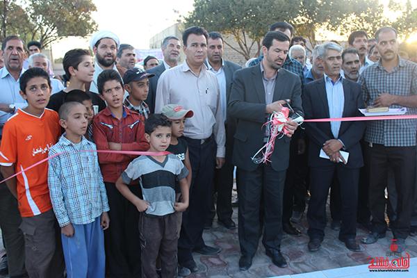 افتتاح پارک مادر در روستای فخرآباد رفسنجان