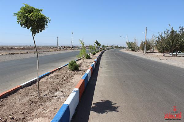افتتاح پروژه بلوار رسول اکرم روستای ناصریه