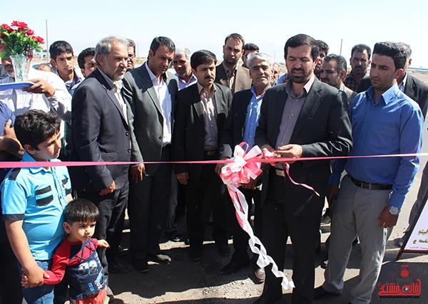 افتتاح پروژه های روستای ناصریه