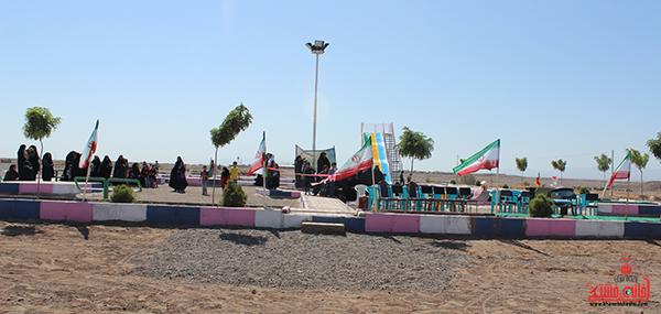 افتتاح پروژه پارک کودک در روستای ناصریه