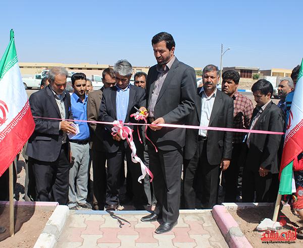 افتتاح پروژه پارک کودک در روستای ناصریه2