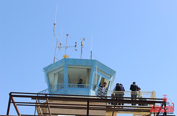 بخش های عملیاتی فرودگاه رفسنجان از تجهیزات مناسبی برخوردار است