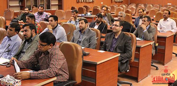 شعار ویژه هفته دولت؛ رفسنجان شهرستان امید و آرامش، فضایی برای سرمایه گذاری و توسعه