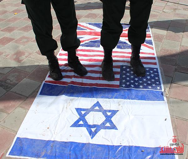 بیانیه حمایت از غزه در رفسنجان3