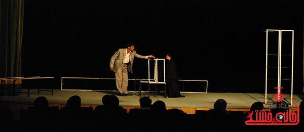 """""""رد پر پروانه ای از آن سردنیا"""" در رفسنجان به روی صحنه رفت"""