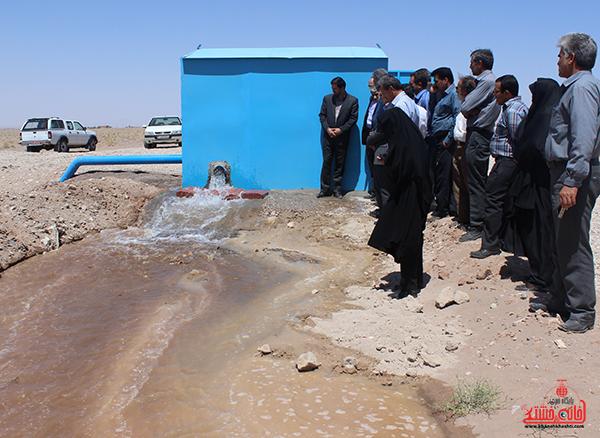 افتتاح طرح پایش و کنترل از راه دور تاسیسات آب رفسنجان تا ۲۲ بهمن ماه امسال