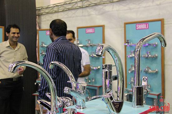 دوربین خانه خشتی در دومین نمایشگاه صنعت ساختمان در رفسنجان
