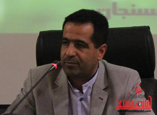 معاون سیاسی و اجتماعی فرمانداری رفسنجان استعفا داد