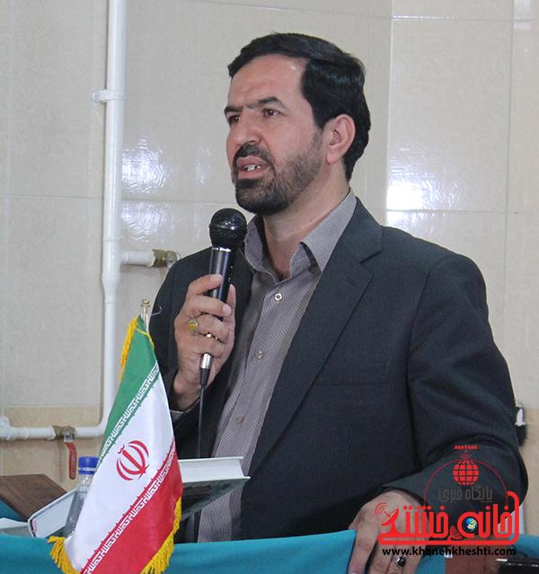 اولین نماز وحدت بین ادارات رفسنجان برگزار شد