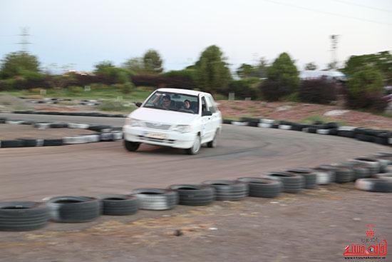 درخشش اتومبیلران رفسنجانی در اولین راند مسابقات کشوری اسلالوم