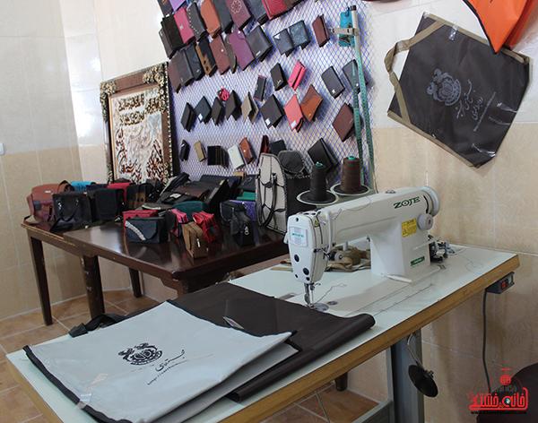 افتتاح کارگاه آموزشی مشاغل خانگی در رفسنجان