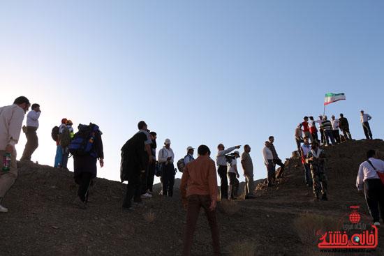همایش بزرگ کوهپیمایی خانوادگی در رفسنجان برگزار می شود