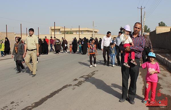 همایش پیاده روی خانوادگی روستایی در رفسنجان7