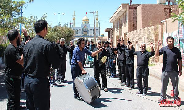 هیئت عزاداری در روستای قاسم آباد رفسنجان3