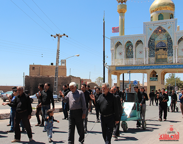 هیئت عزاداری در روستای قاسم آباد رفسنجان4