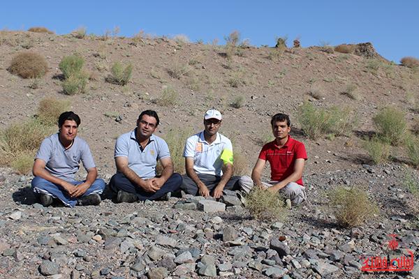 کوهپیمایی خانوادگی رفسنجان