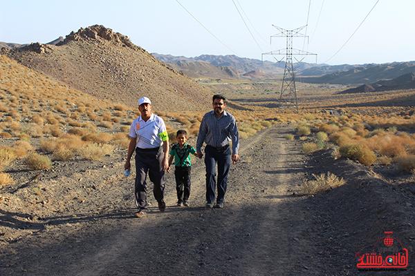 کوهپیمایی خانوادگی رفسنجان3