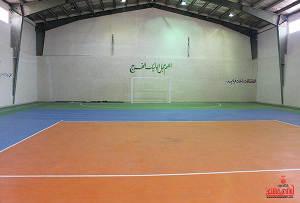 1افتتاح مجموعه ورزشی شهدای کریم آباد علیاء