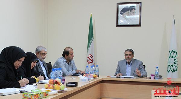 1نشست خبری شهردار رفسنجان با خبرنگاران