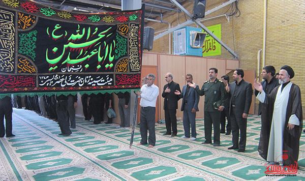 10هیئت عزاداری در روستای قاسم آباد رفسنجان