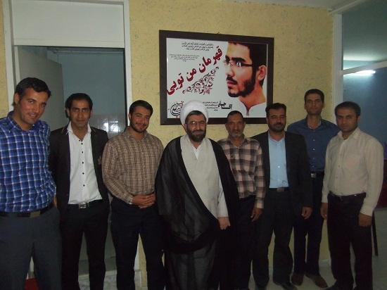 بازدید امام جمعه رفسنجان از موسسه حقوقی بینش عدل گستر