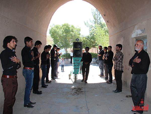 2هیئت عزاداری در روستای قاسم آباد رفسنجان