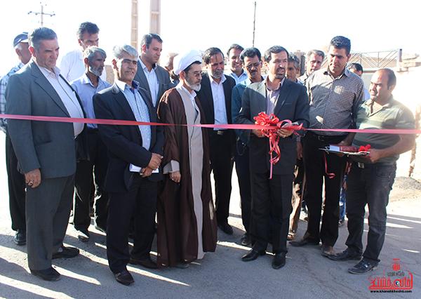 افتتاح بیش از ۲۰ پروژه عمرانی روستایی در رفسنجان با اعتبار ۱۲۰ میلیارد ریال
