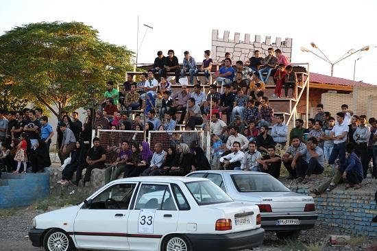 مسابقات اتومبیلرانی ریس اسلالوم قهرمانی استان در رفسنجان برگزار شد
