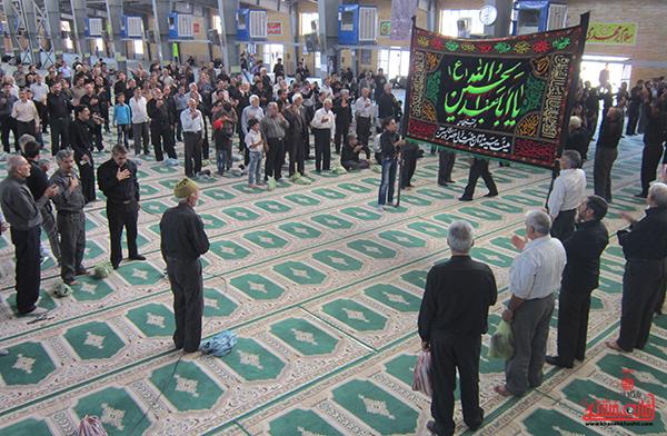 دوربین خانه خشتی در عزادارای شهادت امام جعفر صادق(ع)