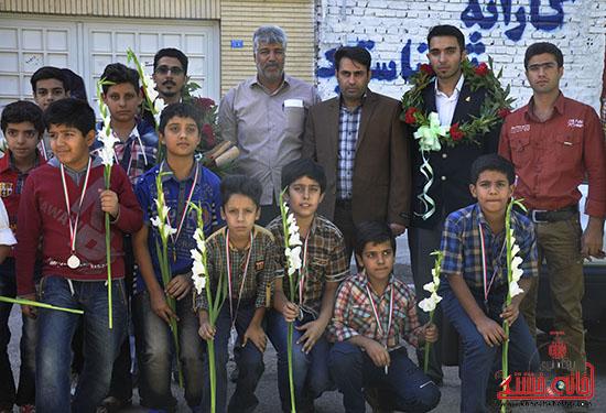 کسب ۱۳ مدال رنگارنگ توسط کاراته کاران نوجوان رفسنجانی