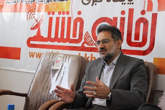 بازدید وزیر سابق فرهنگ و ارشاد اسلامی از دفتر پایگاه اطلاع رسانی خانه خشتی + عکس